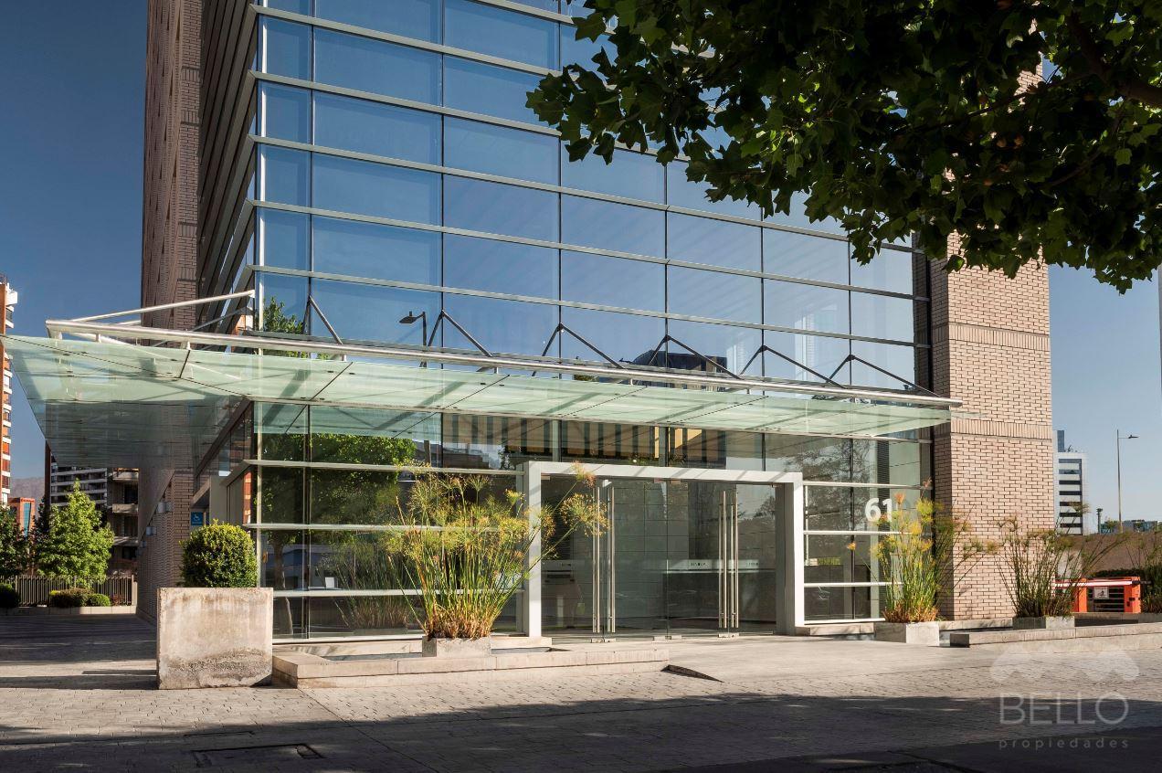 Arriendo Oficina Habilitada Metro Manquehue 103 m2 UF 51,5