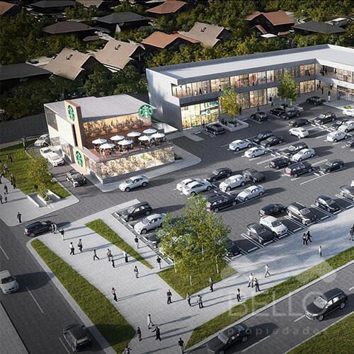 Arriendo comercial Strip Center Peñalolen de 60 a 143 m2 0,7 UF/m2 Peñalolen