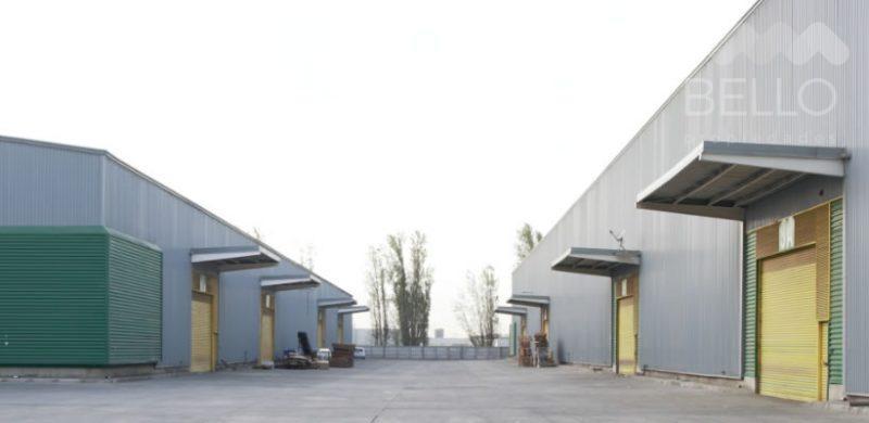 Arriendo Bodegas 0,12 UF/m2 de 456 m2 a 1.805 m2