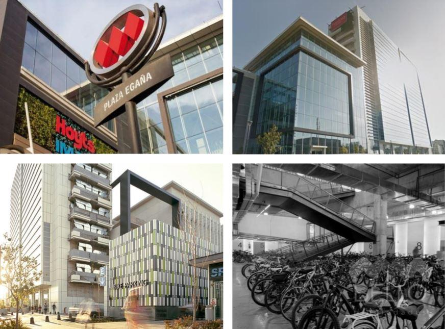 Arriendo Oficina Habilitada Mall Pllaza Egaña 773,83 m2 Metro L1 y 3